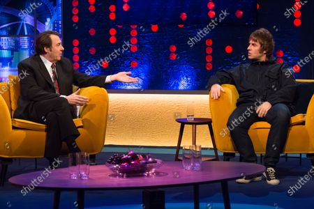 Jonathan Ross and Liam Gallagher