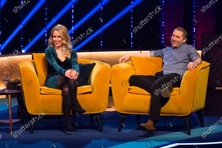 Stock Picture of Lucy Beaumont and Jon Richardson
