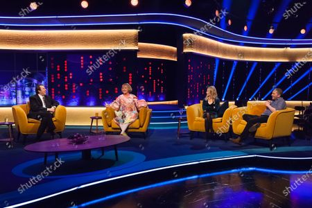 Editorial picture of 'The Jonathan Ross Show' TV show, Series 16, Episode 7, London, UK - 28 Nov 2020