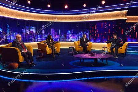 Matt Lucas, Lady Leshurr, Jonathan Ross and Liam Gallagher