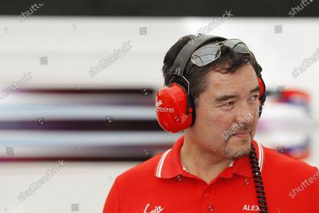 Qualifying Sessions. Alex Tai - Team Principal for Virgin Racing. FIA Formula E World Championship. Buenos Aires, Argentina, South America. Saturday 10 January 2015. Copyright: Adam Warner / LAT / FE