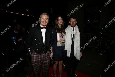2014 Autosport Awards. Grosvenor House Hotel, Park Lane, London. Sunday 7 December 2014. Tony Jardine and Mark Cavendish.  World Copyright: Zak Mauger/LAT Photographic.