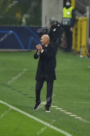 Zinedine Zidane (Real Madrid) during the Uefa Champions League match between Inter 0-2 Real Madrid at Giuseppe Meazza Stadium in Milano, Italy.