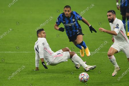 Editorial photo of Soccer : Uefa Champions League 2020  2021 : Inter 0-2 Real Madrid, Milano, Italy - 25 Nov 2020