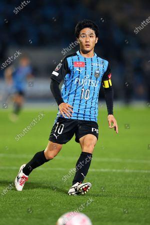 Ryota Oshima (Frontale) - Football / Soccer : 2020 J1 League match between Kawasaki Frontale 5-0 Gamba Osaka at Kawasaki Todoroki Stadium, Kanagawa, Japan.
