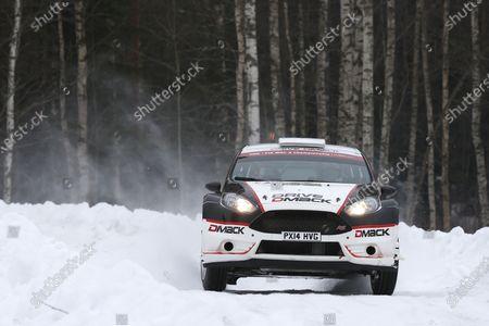 2015 World Rally Championship Swedish Rally 12th - 15th February 2015 Jari Ketomaa, Ford, action Worldwide Copyright: McKlein/LAT