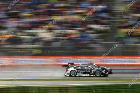 DTM Championship Hockenheim, Germany 1st - 3rd May 2015 #8 Christian Vietoris, Mercedes-AMG C 63 DTM(Race 2). Copyright Free FOR EDITORIAL USE ONLY. Mandatory Credit: DTM.