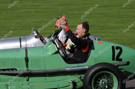 Editorial picture of Goodwood Revival, 2014 Goodwood Revival, Goodwood Circuit, United Kingdom - 14 Sep 2014