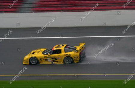 2001 Rolex Daytona 24 Hours Grand Am Series. Daytona International Speedway, Daytona Beach, Florida, USA. 3rd - 4th February 2001. Rd 1.  Johnny O'Connell/Ron Fellows/Chris Kneifel/Franck Freon (Chevrolet Corvette C5-R), 1st position, action. World Copyright: ?F.Peirce Williams / LAT USA. Ref:  FPW01DIS4991.jpg
