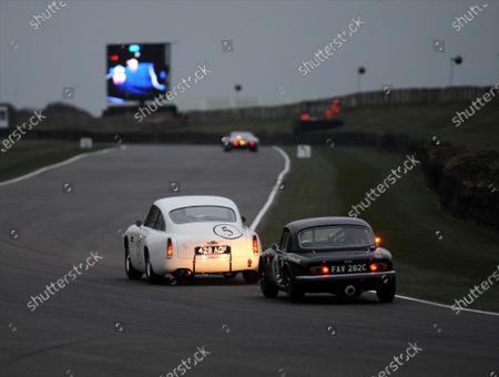 2015 73rd Members Meeting  Goodwood Estate, West Sussex, England 21st - 22nd March 2015 Race3 Graham Hill Trophy Tom Alexander Adrian Wilmott Aston Martin DB4GT World Copyright: Jeff Bloxham/LAT Photographic