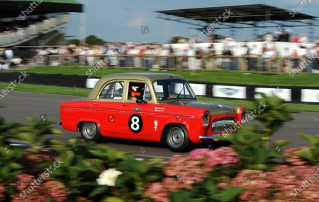 2014 Goodwood Revival Meeting Goodwood Estate, West Sussex, England 12th - 14th September 2014 St Mary's  Trophy James Martin Ford Prefect World Copyright: Jeff Bloxham/LAT Photographic