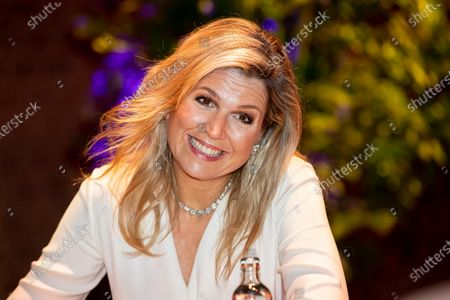 Stock Image of Queen Maxima at the presentation of the King Willem I prize at the Beurs van Berlage