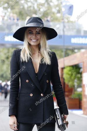 Albert Park, Melbourne, Australia. Sunday 15 March 2015. Elyse Knowles in the paddock. World Copyright: Alastair Staley/LAT Photographic.