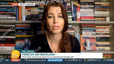 Editorial photo of 'Good Morning Britain' TV Show, London, UK - 26 Nov 2020
