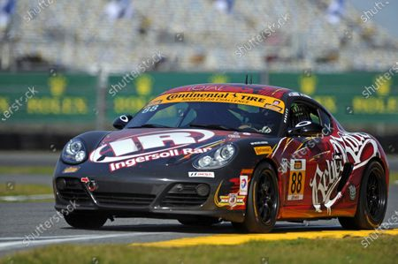 21-23 January, 2015, Daytona Beach, Florida USA 88, Porsche, Cayman, ST, Jim Jonsin, Erik Valdez ?2015, F. Peirce Williams LAT Photo USA