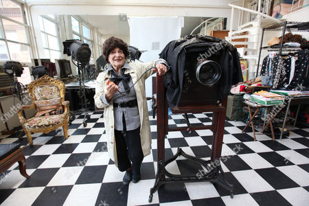 Editorial picture of Celebrity photographer Editta Sherman in her Carnegie studio, Manhattan, New York, America - 23 Sep 2009