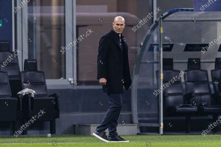 Zinedine Zidane Head Coach of Real Madrid