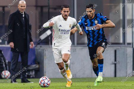 Editorial image of FC Internazionale v Real Madrid, UEFA Champions League, Group B, Football, Stadio Giuseppe Meazza, Milan, Italy - 25 Nov 2020