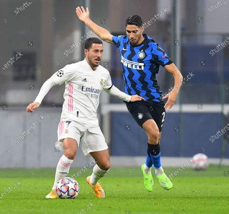Editorial picture of Italy Milan Football Uefa Champions League Real Madrid vs Fc Inter - 25 Nov 2020