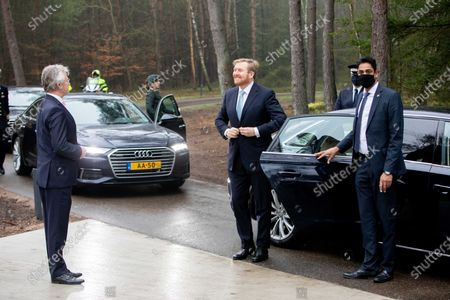 King Willem-Alexander at the opening of the Loenen National Veteran Cemetery.
