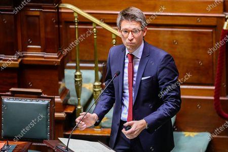 Editorial image of Politics Chamber Plenary Session, Brussels, Belgium - 26 Nov 2020