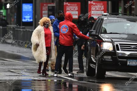 Darlene Love attends the Macy's Thanksgiving Day Parade.