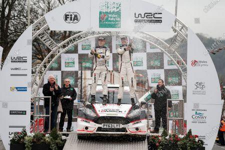 2014 World Rally Championship Wales Rally GB 13-16th November 2014 Jari Ketomaa. Ford . Podium Worldwide Copyright: McKlein/LAT