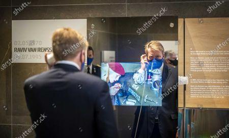 Editorial picture of King opens National Veteran Cemetery Loenen, Netherlands - 26 Nov 2020