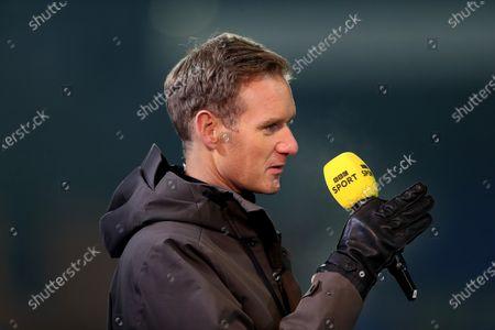 BBC Sport presenter Dan Walker