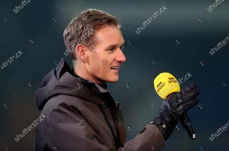Stock Image of BBC Sport presenter Dan Walker