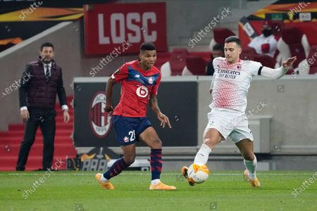 Editorial picture of Lille v AC Milan, UEFA Europa League, Group H, Football, Stade Pierre Mauroy, Lille, France - 26 Nov 2020