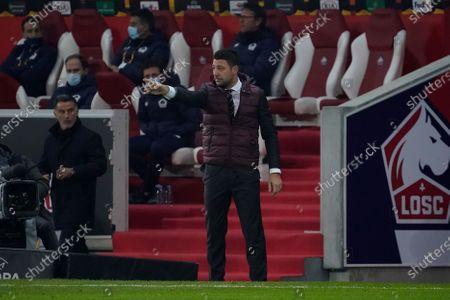 Stock Image of Milan coach Daniele Bonera