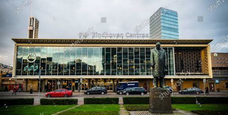 The Central Station of Eindhoven, Netherlands, 26 November 2020. King Willem-Alexander will attend the celebration of King's Day there in 2021 with his family and members of the Royal Family.