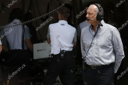 Circuit Gilles Villeneuve, Montreal, Canada. Saturday 7 June 2014. Ron Dennis, Executive Chairman, McLaren Automotive. World Copyright: Alastair Staley/LAT Photographic.