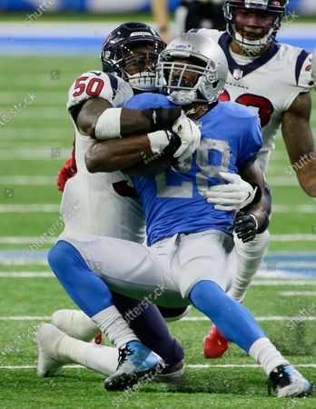 Editorial photo of Texans Lions Football, Detroit, United States - 26 Nov 2020