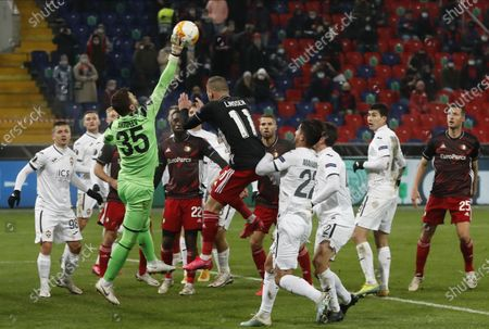 Editorial photo of CSKA Moscow vs Feyenoord Rotterdam, Russian Federation - 26 Nov 2020