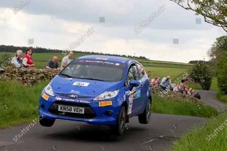 2014 MSA British Rally Championship.  Jim Clark Rally. 30th - 31st May 2014. Cameron Davies / Phil Hall Ford Fiesta R2. World Copyright: Ebrey / LAT Photographic.