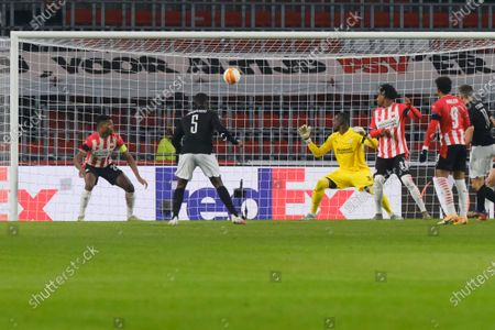 Editorial image of Soccer Europa League, Eindhoven, Netherlands - 25 Nov 2020