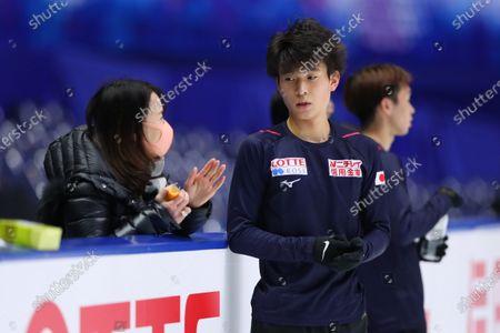 Editorial photo of Figure Skating : ISU Grand Prix of Figure Skating 2020/21NHK Trophy, Osaka, Japan - 26 Nov 2020
