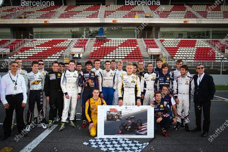 BARCELONA (ESP) OCT 18-20 2013 - Final round of the World Series by Renault 2013 at circuit de Catalunya. WSR remembers Maria de Villota. Action. © 2013 Diederik van der Laan / Dutch Photo Agency / LAT Photographic