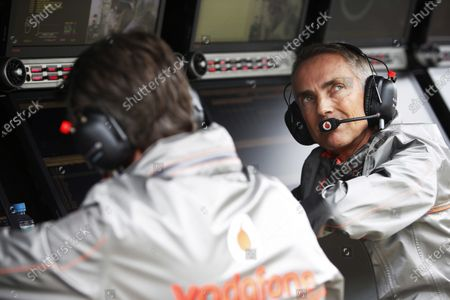 Interlagos, Sao Paulo, Brazil. Saturday 23rd November 2013. Martin Whitmarsh, Team Principal, McLaren.   World Copyright: Glenn Dunbar/LAT Photographic.