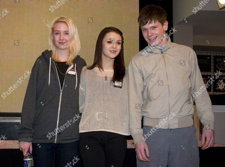 Lily Loveless, Kathryn Prescott and Jack O'Connell