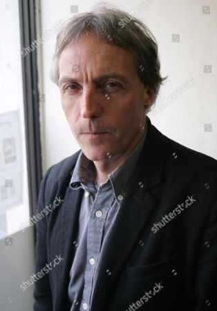 Editorial photo of BBC Correspondent  Nick Thorpe promoting his first book ''89 Unfinished Revolution', Waterstones, Salisbury, Britain  - 06 Feb 2010
