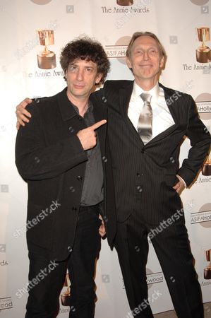 Neil Gaiman and Henry Selick