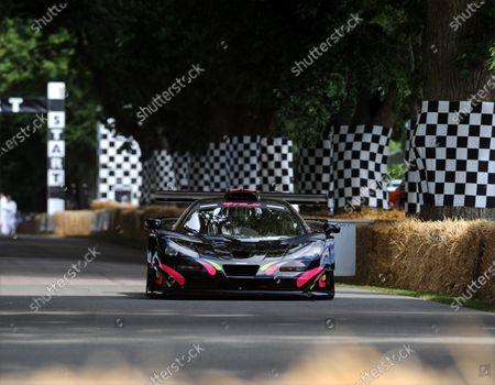 2014 Goodwood Festival of Speed Goodwood Estate, West Sussex, England 26th - 29th June 2014 Kenny Brack, McLaren F1 GTR Longtail.  World Copyright: Jeff Bloxham/LAT Photographic