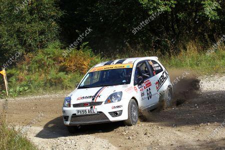 2013 BRC Challenge, Rally Yorkshire. Pickering, 27th - 28th September 2013. Luke Pinder / Martyn Taylor Ford Fiesta. World Copyright: Ebrey / LAT Photographic.