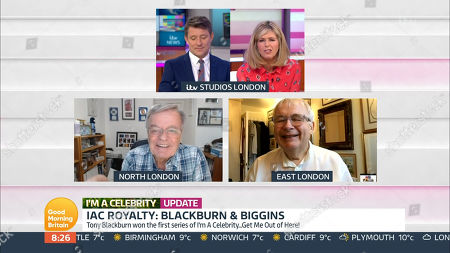 Ben Shephard, Kate Garraway, Tony Blackburn and Christopher Biggins