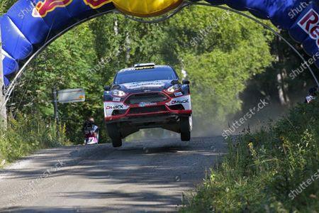 2013 FIA World Rally Championship Round 08-Rally Finland 31/7-3/8 2013. Jari, Ketomaa, Ford WRC 2, Action. Worldwide Copyright: McKlein/LAT
