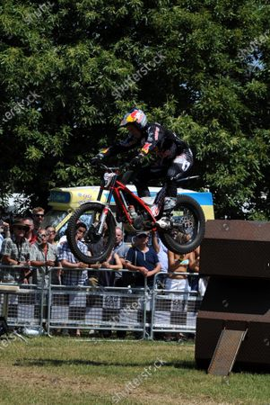 Goodwood Estate, Chichester England 11th - 14th July 2013. Dougie Lampkin. World Copyright: Jeff Bloxham/LAT Photographic