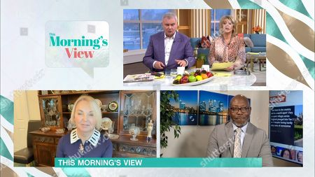 Stock Photo of Eamonn Holmes, Ruth Langsford, India Willoughby and Darren Lewis